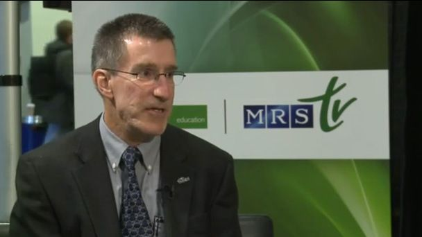 Interview with Bruce Clemens, MRS President 2012