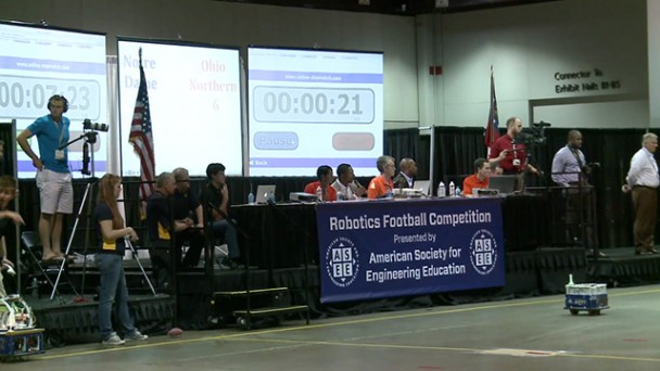 2013 ASEE Robot Football Competition