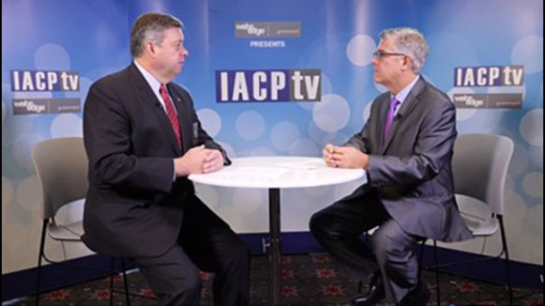 IACP TV talks to the moderator of the session, Ronal W. Serpas