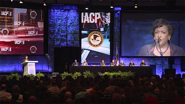 US Attorney General Addresses IACP 2016